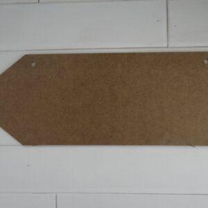 Wooden Pencil Door Hanger