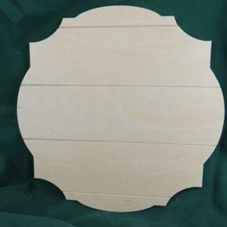 Wooden Plaque - Juanita