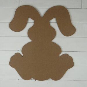 Wooden Bunny Cutout