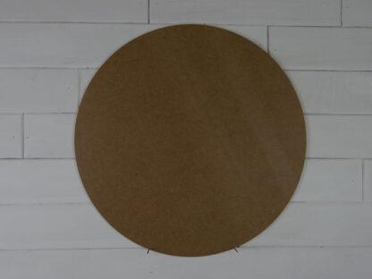 Blank Round Mdf Door Hanger
