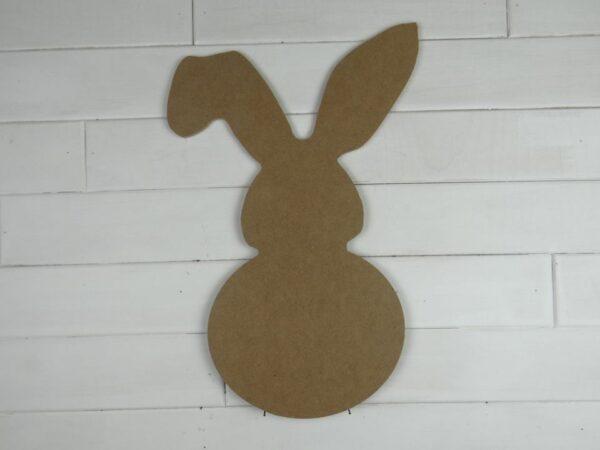Wooden Flop Ear Bunny Door Hanger