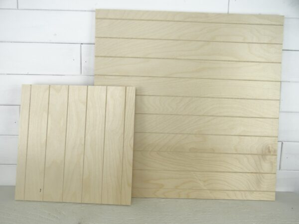 Faux Pallet Square Wooden Cutout