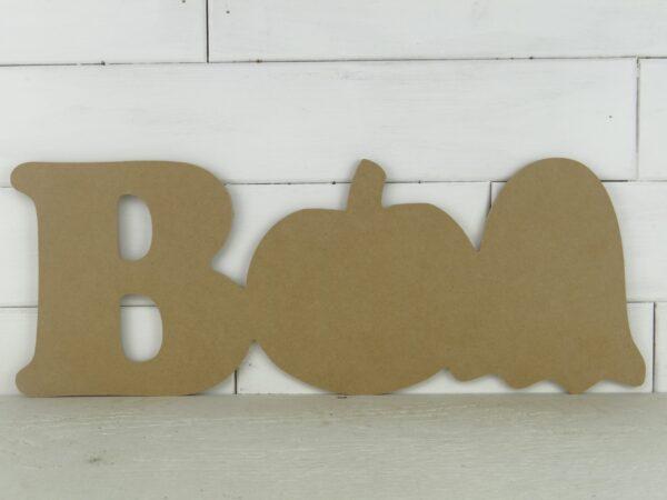 Wooden Boo Door Hanger