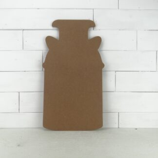 Wooden Milk Can Cutout