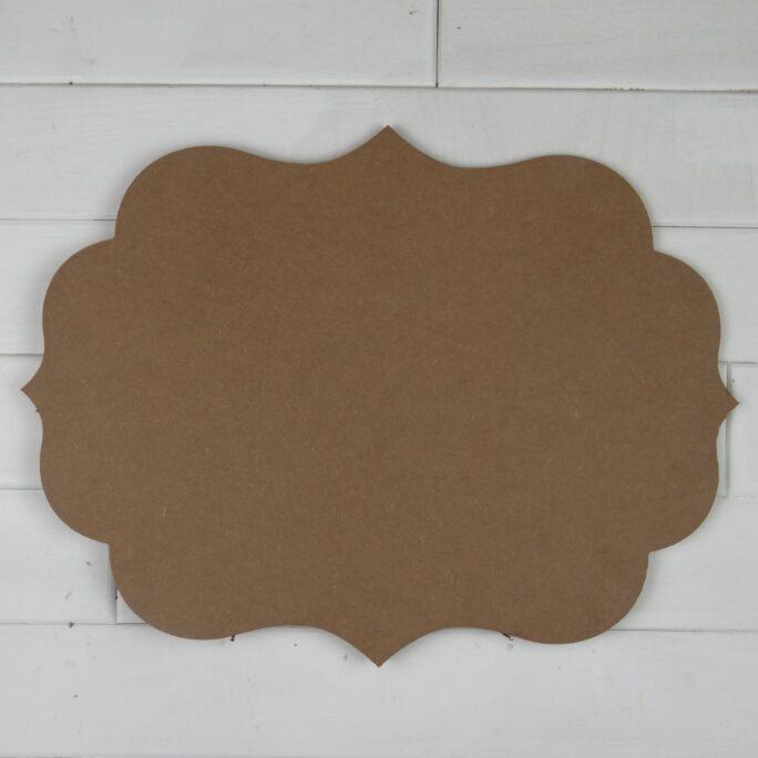 Blank Wooden Plaque - Diana