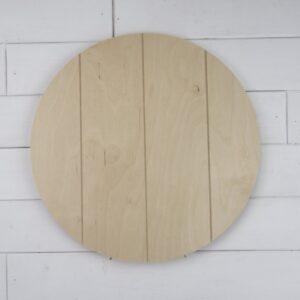 Wooden Circle Cutouts