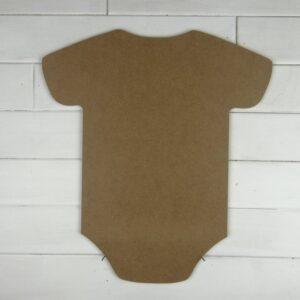Wooden Bodysuit Cutout