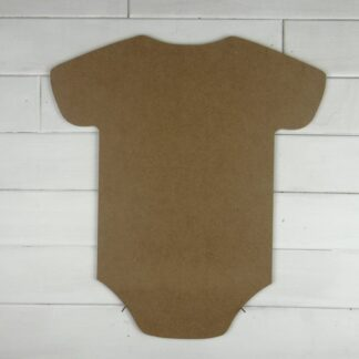 Wooden Bodysuit Cutout