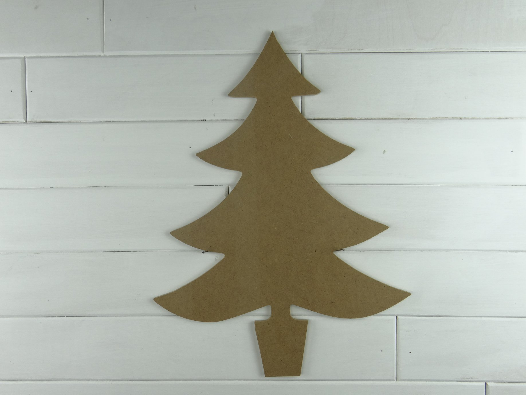 Wood Christmas Tree Cutout Craft Dealz