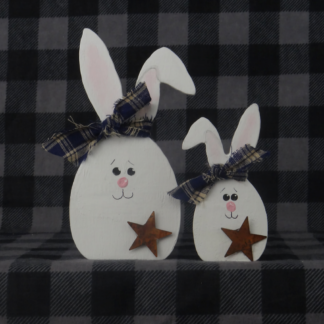 Egg Bunny Set of 2