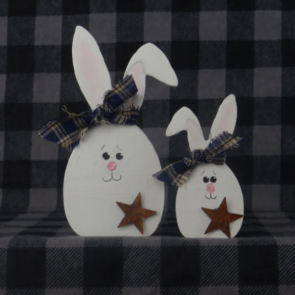 Egg Bunny Set of 2