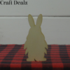 gnome with bunny ears charm