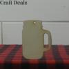 mason jar with handle charm