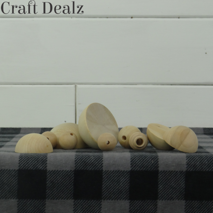 Wood Beads and Split Balls