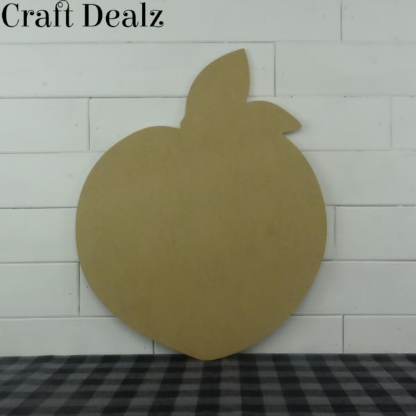 Wooden Peach Cutout